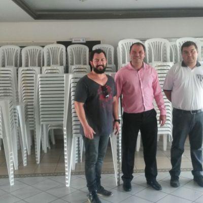 A Diretoria do Porto Ferreira Futebol Clube adquiriu novos jogos de mesas e cadeiras para as dependências do clube.