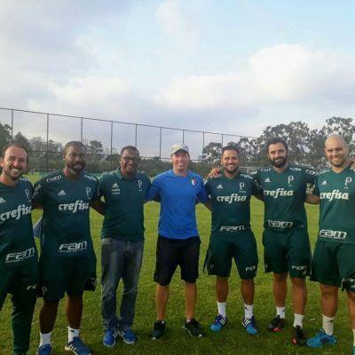 Entrevista: Deiviti Cremonezi (Téia) técnico de futebol do P.F.F.C. realizou estágio na S.E. Palmeiras.