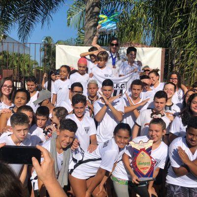 Natação PFFC Começa o Ano Quebrando Recordes no Troféu Amigos da Natação