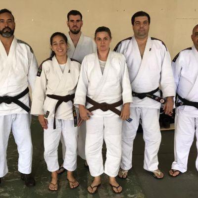 Atletas de Judô do PFFC participam de curso para troca de faixas em São Paulo