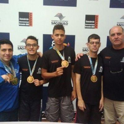 Ferreirenses conquistam podium e equipe fica em 8º lugar na classificação geral estadual.
