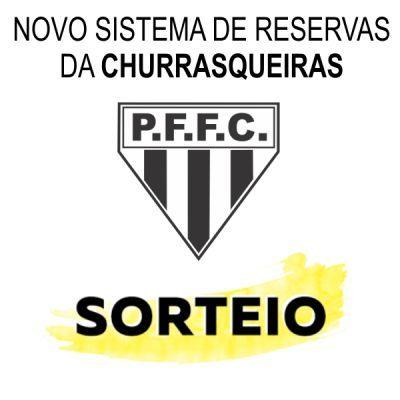 Novo sistema de reservas de Churrasqueira P.F.F.C.