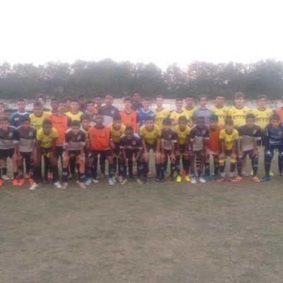 Equipe do P.F.F.C. participa de jogo amistoso contra a Ponte Preta de Campinas.