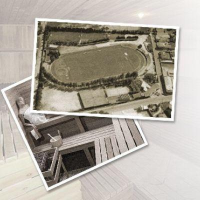 Construção do Estádio Ferreirão e da 1ª Sauna